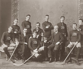 Maple Hockey Club - Montreal 1893 - Mc Cord Museum